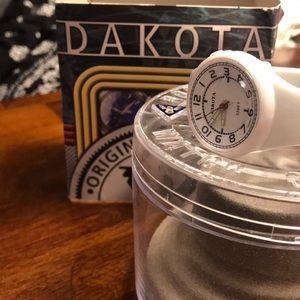 White Dakota Watch